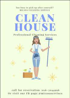 Hourly Maid service