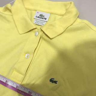 Lacoste authentic polo 👕 shirt 👚