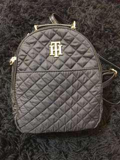 TOMMY HILFIGER black mini backpack BNWT