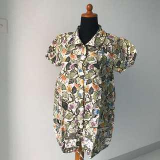 Leaves Batik Top