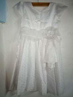 Nano Kids White dress