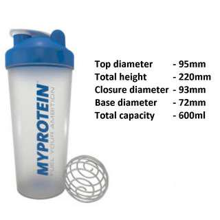 600ml protein shaker myprotein