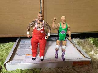 WWE Mattel figure elite Finlay&Brodus Clay (gusti)
