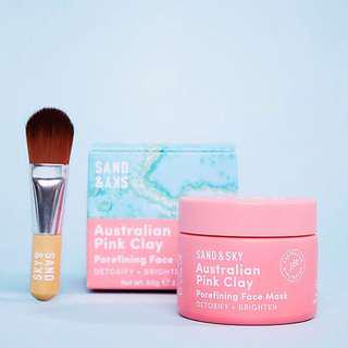 ‼️PREORDER‼️ Sand & Sky australian pink clay mask and
