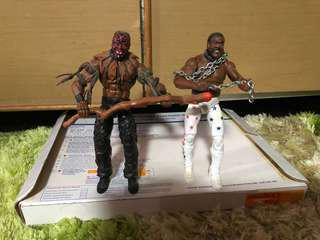 WWE Mattel figure Elite Junkyard Dog&Boogeymen (gusti)