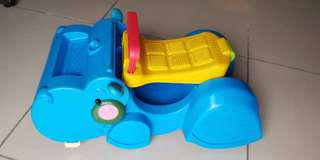 Fisher Price Hippo walker