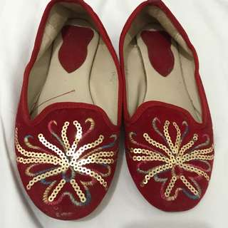 PRELOVED Chinese doll shoes