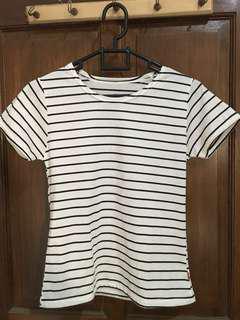 Stripe Tee | Kaos Stripe | T-shirt stripe