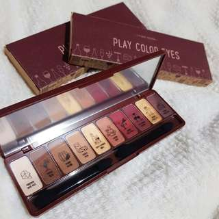 Etude House wine party eye shadow palette (one left) + FREE GIFTS