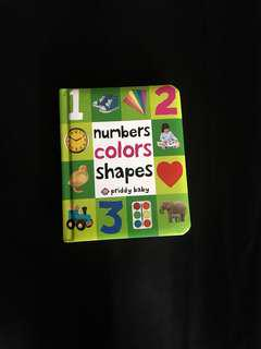 🌟NEW!!! Numbers Colors Shapes by Robert Priddy