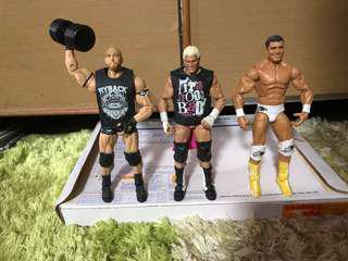 WWE Mattel figure Ryback&Dolph Ziggler&Alberto Del Rio