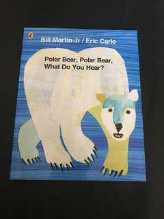🌟NEW! Polar Bear Polar Bear What do you Hear by Eric Carle
