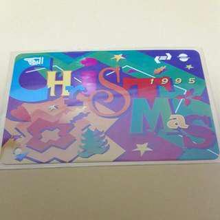 九鐵 1995 聖誕車票