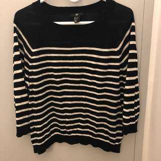 H&M light weight sweater