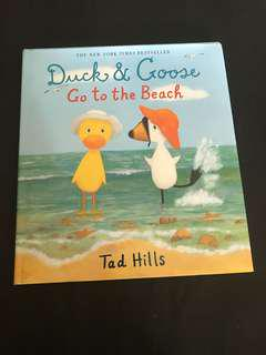 🌟 Duck and Goose Go to the Beach
