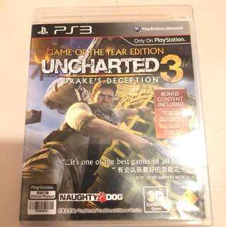 [包郵]PS3 Uncharted 3