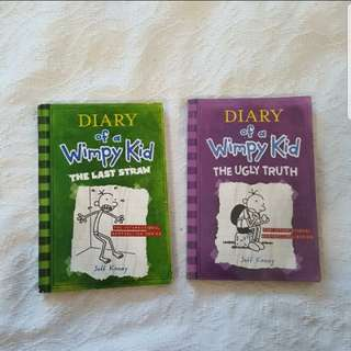 Diary of a Wimpy Kid (Book 3&5)