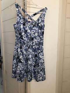 Dress floral hnm