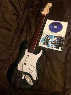 Wii Wireless Rock Band Guitar