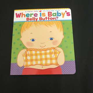 🌟NEW! Where is Baby's Belly Button? By Karen Katz