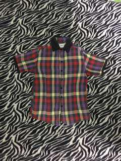 Checkerd Buttondown