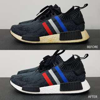 Sneaker Simple Restoration Services (Cleaning, Repainting, Unyellowing)