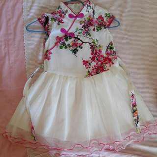 Preloved Cheongsum Dress size 8