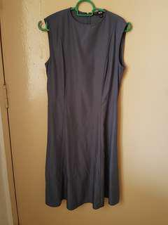 Fit and flare work dress