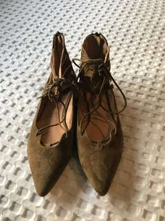 Leather seed flats
