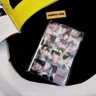 WannaOne Gold Pin + Notebook