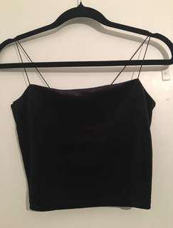 Black Velvet Crop