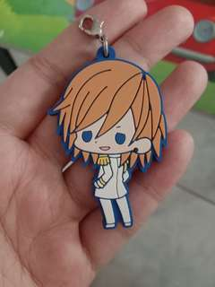 Official Anime Rubber Keychain