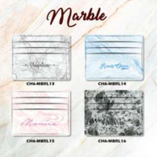 Custom Card Holder design Marble 4