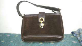 Mark Cross leather suede luxury bag (louis vuitton gucci prada)
