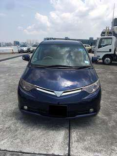 CAR FOR RENT 8 SEATER ESTIMA $390 31/08 - 03/09 87875588 CALL US  (P PLATE WELCOME)
