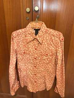 Flowery Shirt