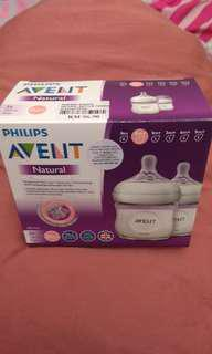 AVENT Natural Baby Bottle 125ml 4oz (White)