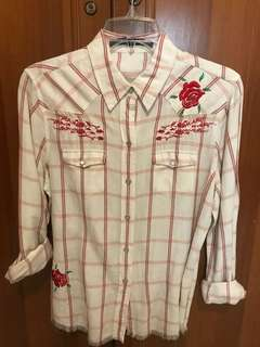 White Rose Tshirt