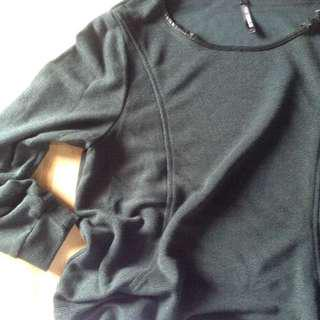 FOREST GREEN Longsleeve top
