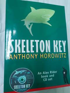 Anthony Horowitz Skeleton Key Book and CD set