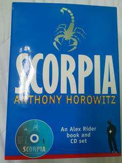 Anthony Horowitz Scorpia Book and CD Set