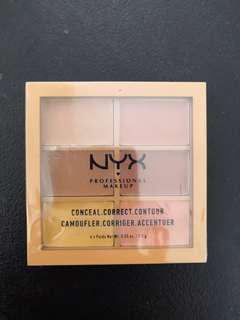 Authentic NYX Conceal Correct Contour palette