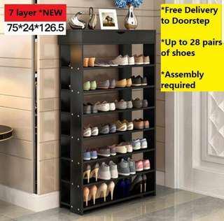Free delibery 7 layered Shoe Rack