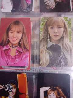 Red Velvet Wendy SG 2018 set