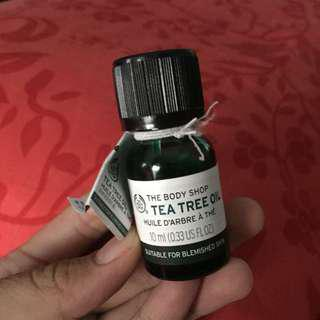 Tea tree oil body shop