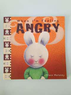 When I'm Feeling Angry Children Book