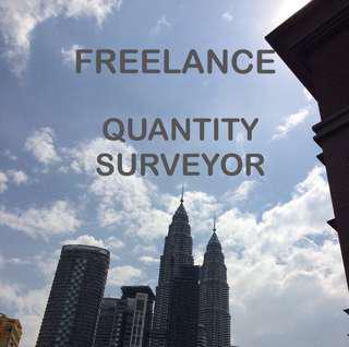 I'm freelance quantity surveyor / juruukur bahan