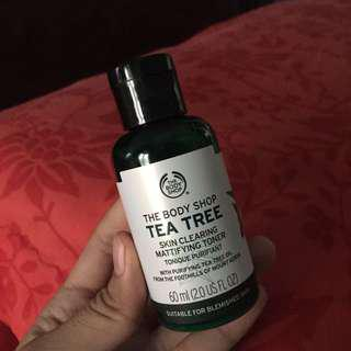Tea tree mattifaying toner