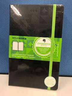 Moleskine Evernote Rules Smart Notebook
