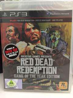 Red Dead Redemption GOTY PS3 version
